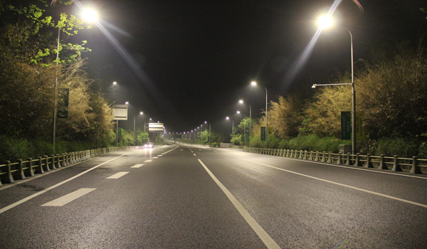 Jiangxi promotes the LED lamps in public places