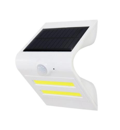 COB Motion Sensor Solar Outdoor Wireless LED Wall Lamp