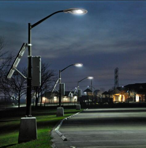 LED street lights apply for energy-saving certification notice