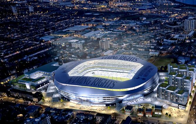 Tottenham Stadium will use LED lighting