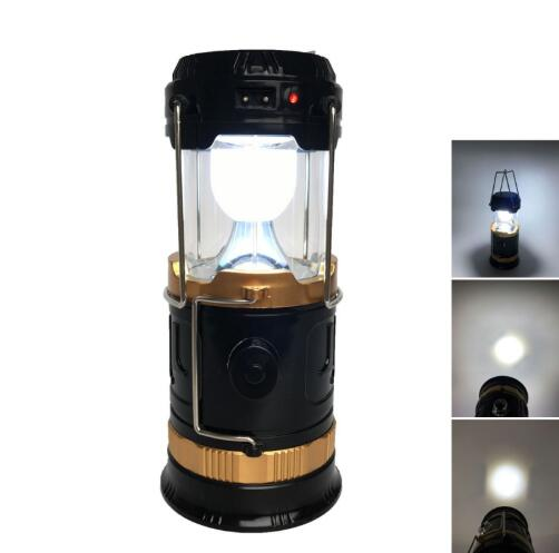 Solar Portable LED Camping Lamp Medium Size