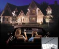 The LED lighting promotion of the