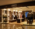 Armani use high intensity led light bulbs