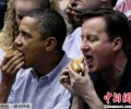 Obama and Cameron super high power led show close