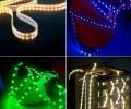 Outdoor Christmas Decoration RGB Color Christmas LED Lights