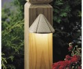 Kichler 15765 Functional One Light LED Mini Deck Light from the Landscape LED Collection