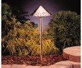 Kichler 15843 Design Pro LED Decorative Hammered Roof Low Voltage Path & Spread Light