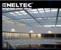 LED lighting indoor lighting energy saving at least 75%