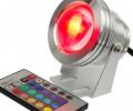 10W 12V RGB LED Spot Light Lamp