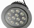 LED Downlight with 60/38/22 and 90/60/45 Degrees Beam Angle