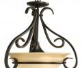 Torino Three-Light Bowl LED Pendant
