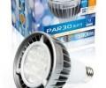 LED PAR30 E27 12W 2700K dimmable lamp 580 lumen equivalent to 75W halogen