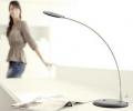 Black aluminium table lamp High power LED module