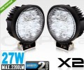 Cree LED Work Lamp Flood Light 27W Offroad Camping
