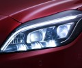 Mercedes-Benz CLS LED headlights angle of 12 degrees