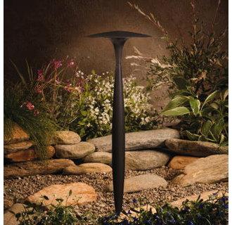 Kichler 15833 Design Pro LED Broad Roof Low Voltage Path & Spread Light