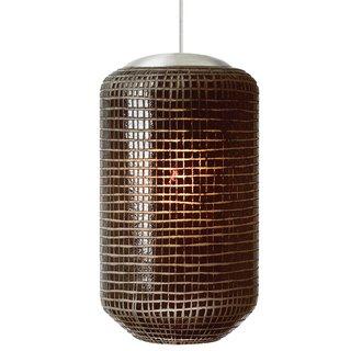 LBL Lighting Mini Aiko LED Brown 6W 2-Circuit Rail 1 Light Pendant Item #: BCI2040902