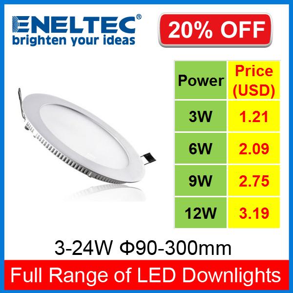 3-24W High Quality Ultra Slim LED Downlights