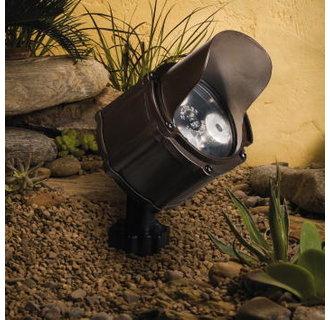 Kichler 15731 4.5W 10° Spot LED Accent Light Low Voltage Lighting from the Landscape LED Collection
