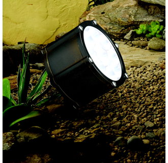 Kichler 15751 12.4W 10° Spot LED Accent Light Low Voltage Lighting from the Landscape LED Collection