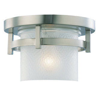 Sea Gull Lighting 80115S Contemporary / Modern Single Light LED Outdoor Ceiling Fixture from the Eternity Collection