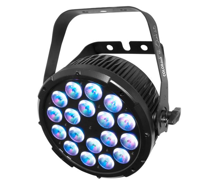 COLORdash™ Par-Quad 18 quad-colored RGBA LEDs