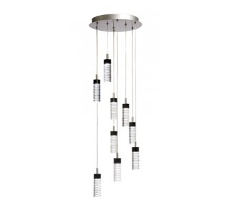 Artcraft Lighting AC6419 Contemporary / Modern 9 Light Down Lighting Chandelier from the Radiance Collection