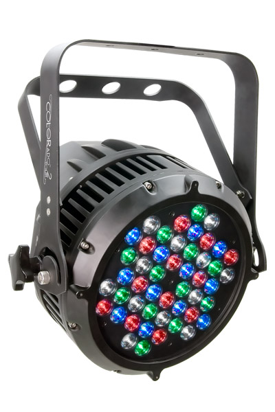 COLORado™ 2 Tour RGBW color LED mixing with or without DMX control