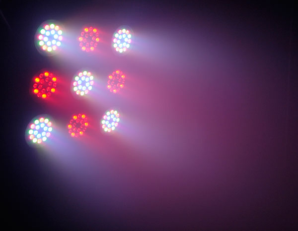COLORado™ 3p IP LED RGB static color mixing with or without DMX controller