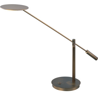 ET2 E41008 Contemporary / Modern LED Swing Arm Table Lamp from the Eco-Task Collection