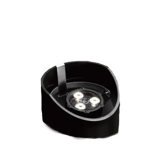 Kichler 15769 3 Light 12V 4.5W 60 Degree LED Well Light