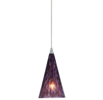 Lbl Lighting Cone Ii Purple Blue Monorail 1 Light Track Pendant