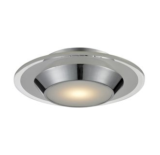 Nulco 81060/1 1 Light LED Flush Mount Ceiling Fixture from the Brentford Collection