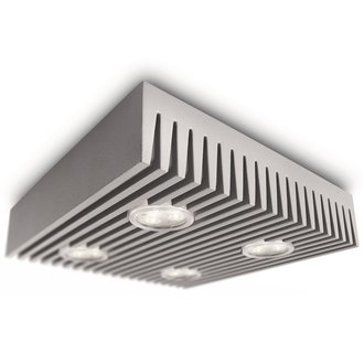 Philips 31602 4 Light LED Flush Mount Ceiling Fixture from the Ledino Collection