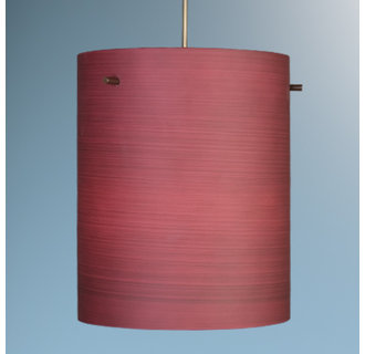 Bruck Lighting 22287 Pendant Fixture for 3 Watt LED Light with Hand Blown Glass Shade from the Regal Collection