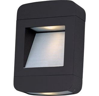 Maxim MX 88250 Contemporary / Modern 11 Inch 2 Light Dark Sky Outdoor Wall Sconce from the Optic LED Collection
