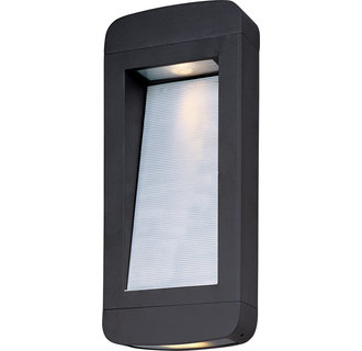 Maxim MX 88254 Contemporary / Modern 18 Inch 2 Light Dark Sky Outdoor Wall Sconce from the Optic LED Collection