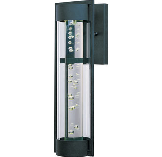 Maxim MX 88354 Contemporary / Modern 22.3 Inch Single Light LED Outdoor Wall Sconce from the Optic LED Collection