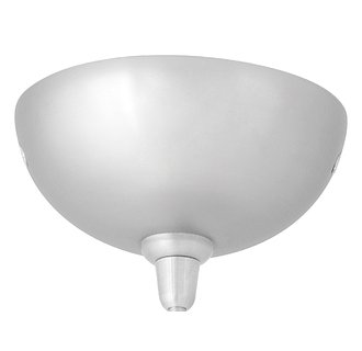 LBL Lighting 4 Inch Dome Canopy Traditional / Classic Single Canopy from the Round Dome Collection
