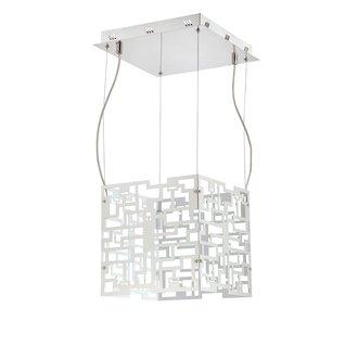 Eurofase Lighting 22785 Metrix 24 Light Pendant with Geometric Shade
