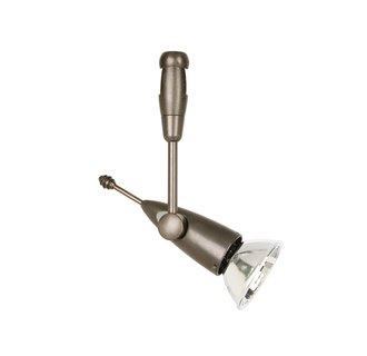 LBL Lighting Bare Head Apollo Swivel I LED 2-Circuit Rail 1 Light Track Head
