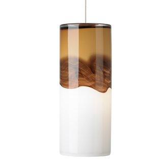LBL Lighting Rio LED Amber / Dark Brown 6W Monopoint 1 Light Mini Pendant