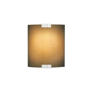 LBL Lighting Omni Cover Small Dark Amber LED 277V Wet 1 Light Outdoor Small Wall Sconce