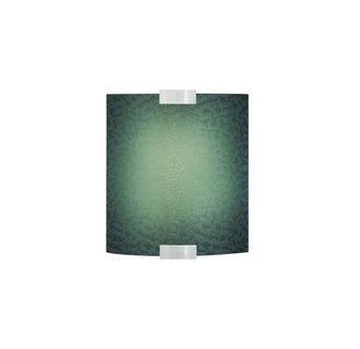 LBL Lighting Omni Cover Small Blue LED 277V 1 Light Wall Sconce