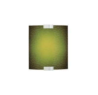 LBL Lighting Omni Cover Small Green LED 277V 1 Light Wall Sconce