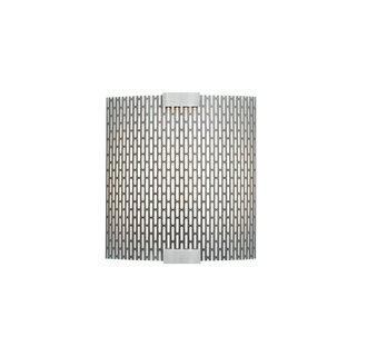 LBL Lighting Omni Cover Small Meta LED 277V 1 Light Wall Sconce