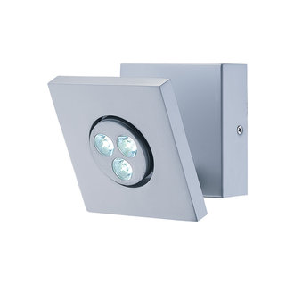 Lite Source LS-16101 Contemporary / Modern Three Light Down Lighting LED Wall Lamp from the Zella Collection