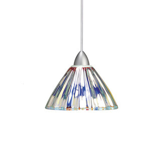 WAC Lighting MP-LED518 LED Monopoint Eden Pendant with Dichroic Glass - Canopy Included