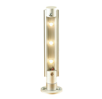 Alico Lighting PW5000-N Contemporary / Modern 3 Light LED Tower Wall Sconce