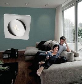 flat circular recessed LED spot light